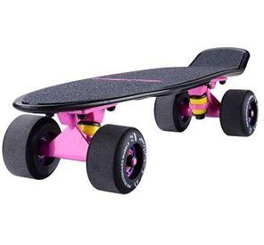 滑板成人兒童四輪滑板車初學者青少年刷街公路板 LX 全館免運