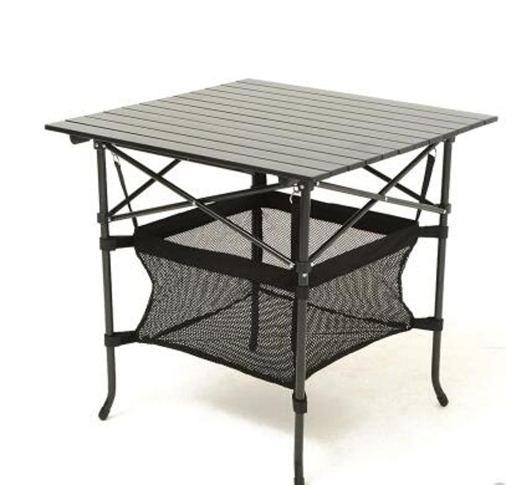 鋁桌 邁步者戶外折疊桌 折疊便攜式野餐桌子 鋁合金桌面 大號鋁桌70cm MKS免運 清涼一夏钜惠