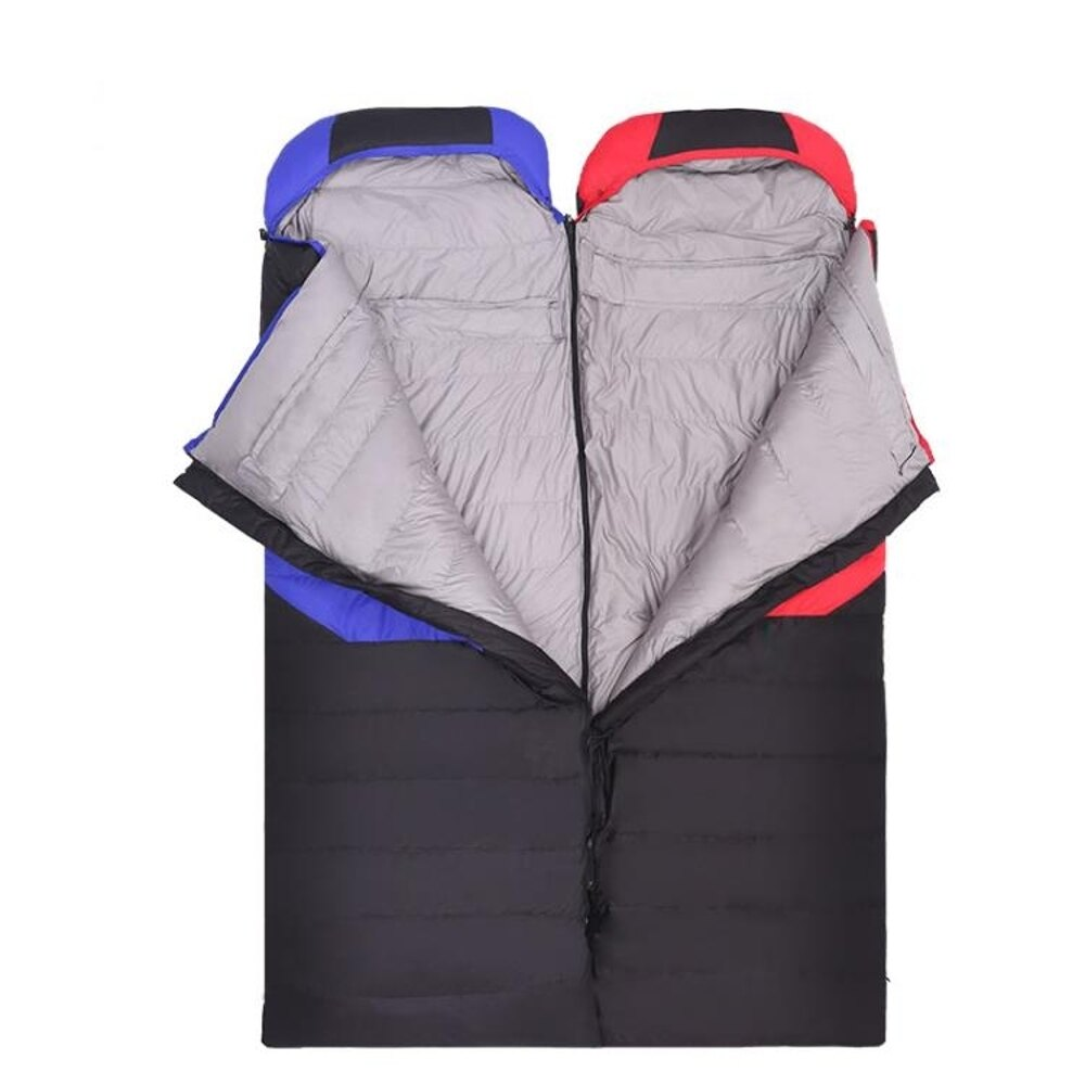 鴨絨室內睡袋成人戶外單人露營羽絨睡袋