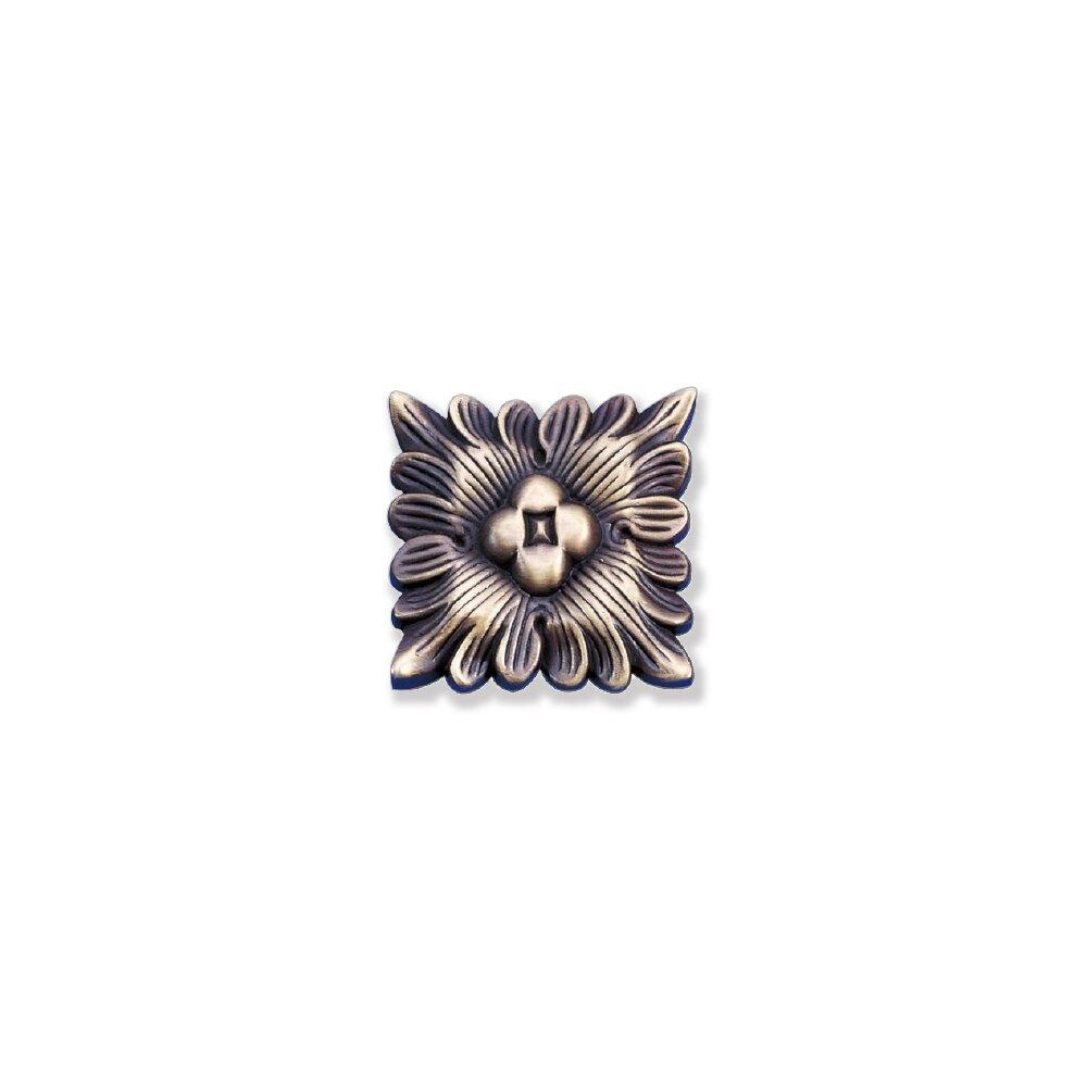 ZY11-古銅色 易利裝生活五金 櫥櫃抽屜飾片 古典復古飾片 鋅合金飾片