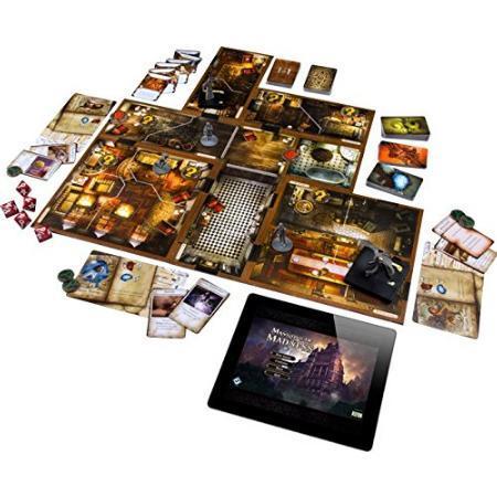 瘋狂詭宅 第二版 Mansion of Madness 繁體中文版 高雄龐奇桌遊 正版桌遊專賣 玩樂小子