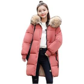 (ジェレミー)Jeremy レディース コート 中綿コート アウター トップス 秋冬 シンプル 女性用 防風 防寒 大きいサイズ E69レッド2XL