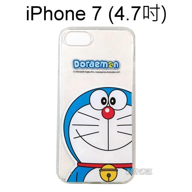哆啦A夢空壓氣墊軟殼 [大臉] iPhone SE (2020) / iPhone 7 / 8 (4.7吋) 小叮噹【正版授權】