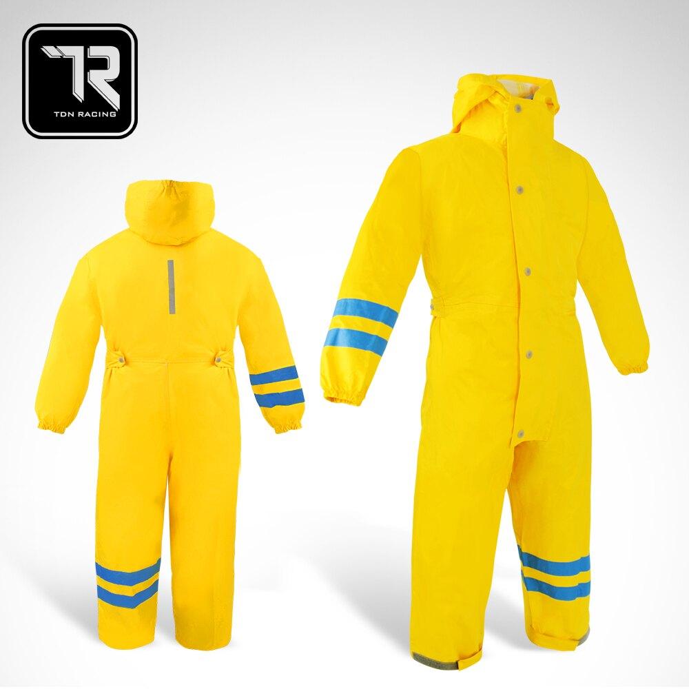 【雙龍牌】台灣無毒材質超輕量兒童連身型雨衣-褲裝防水畫畫衣玩沙衣ED4036