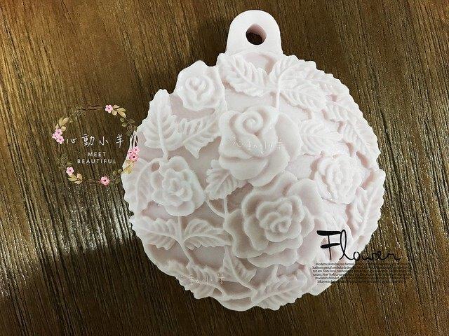 心動小羊^^DIY手工皂矽膠模具肥皂香皂模型矽膠皂模藝術皂模具香磚擴香石楓葉(單孔)