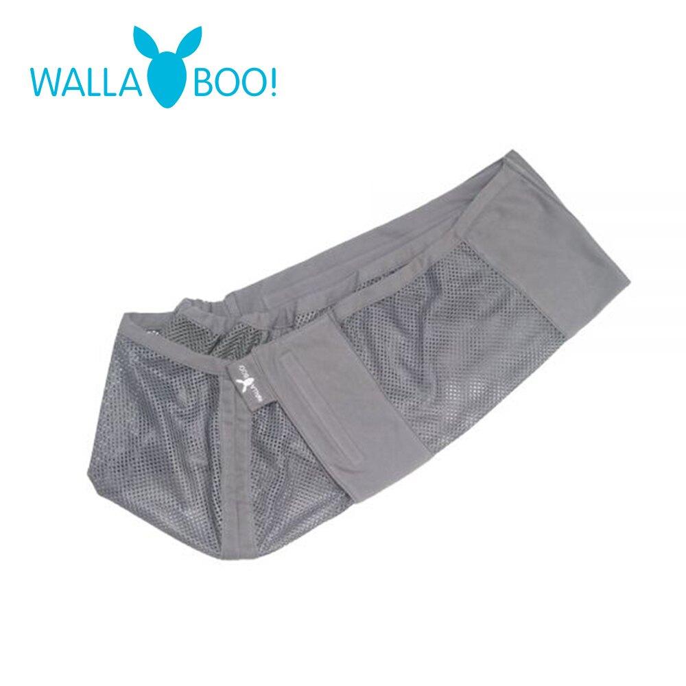 【嬰兒背巾】【Wallaboo】荷蘭育兒極輕袋鼠背巾 AIR空氣版- 深灰