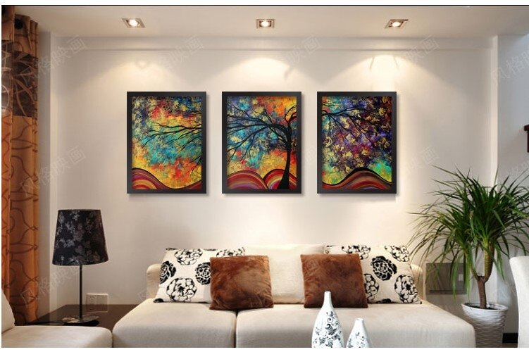 [銀聯網] 莫奈油畫陶瓷畫瓷板畫瓷片畫手繪風格(木框) 1入