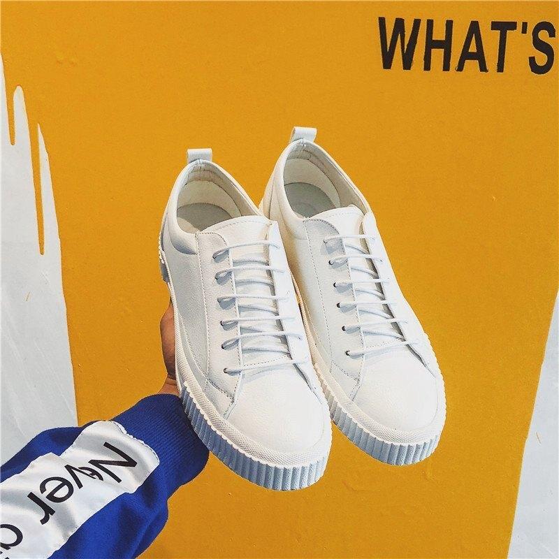 FINDSENSE H1 2018 超火的 夏季 板鞋 男鞋子 運動鞋 跑步鞋 時尚 小白鞋 男 潮鞋