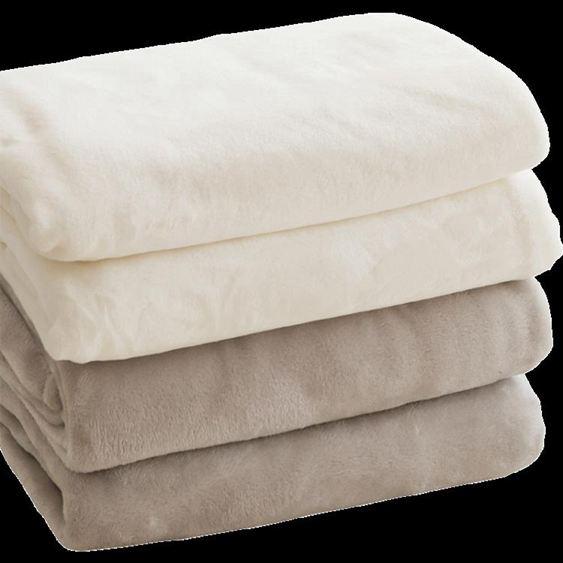 珊瑚絨毯子毛巾小被子加絨墊床單單人空調毯辦公室午睡法蘭絨毛毯