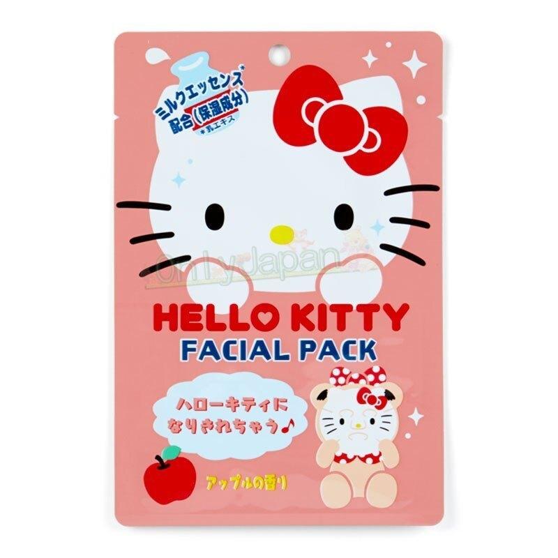 4901610674734 韓國製造型保濕面膜-KT大臉AAFG 凱蒂貓kitty 保濕面膜 補水面膜 面膜 真愛日本