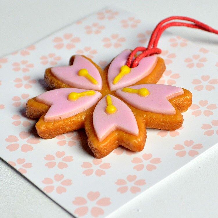 日本進口 櫻花 餅乾造型芳香吊飾 日式香囊*夏日微風*