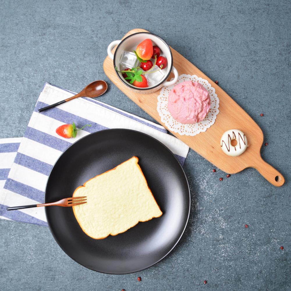 歐式天然櫸木切菜板烘焙板披薩板1 麵包盤