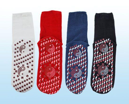 派樂自發熱保暖襪-電氣石能量開運保健襪 ( 3雙 ) 開運襪 腳底保暖溫熱 太極八卦圖騰 年節財運吉運