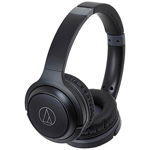 【曜德視聽】鐵三角 ATH-S200BT 黑色 輕量級 無線藍芽耳罩式耳機 ★免運★送收納袋★