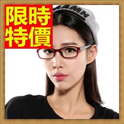 眼鏡框鏡架-超輕時尚小框撞色女配件5色64ah17【獨家進口】【米蘭精品】