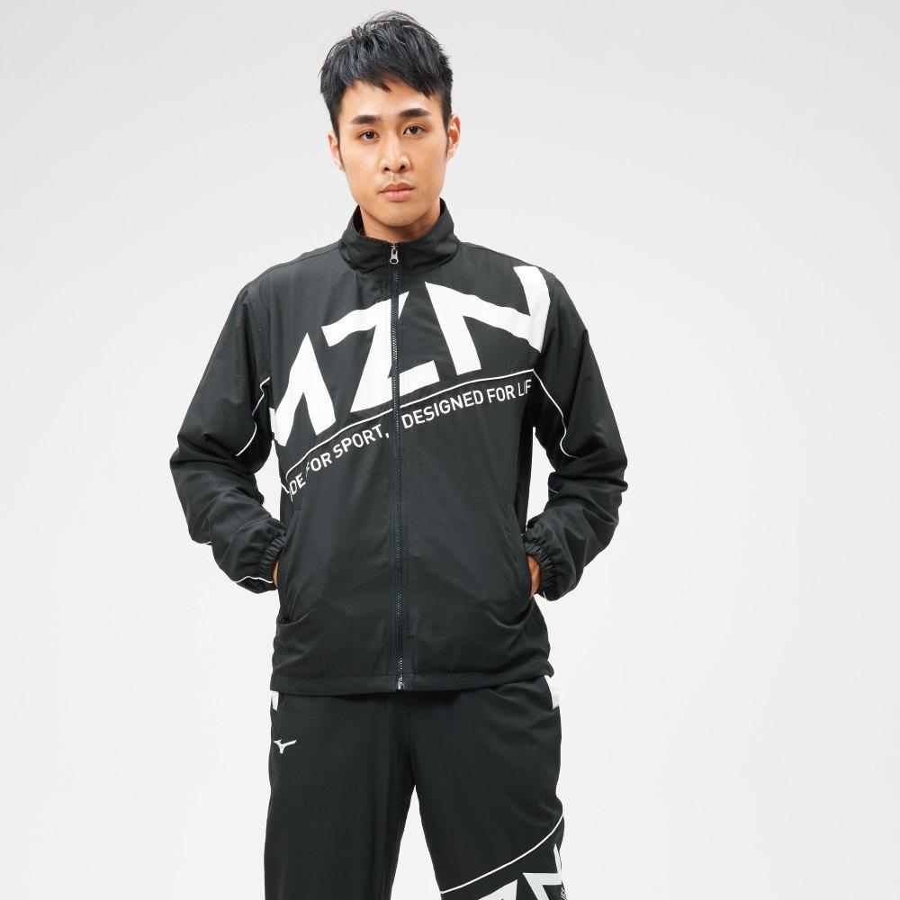 MIZUNO 男裝 外套 立領 1906系列 套裝 休閒 平織 黑【運動世界】D2TC907109