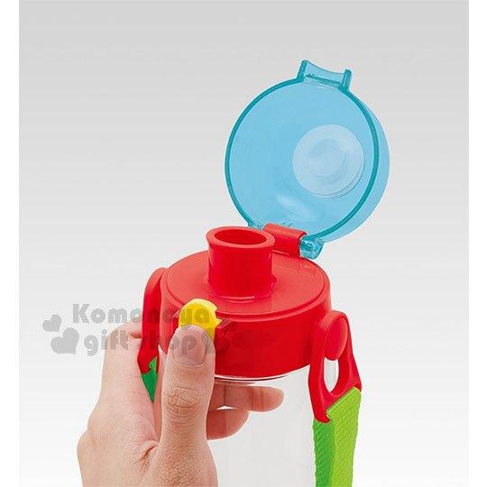 【領券折$30】小禮堂 迪士尼 玩具總動員 直飲水壺《紅透明.各角色》480ml.附背帶