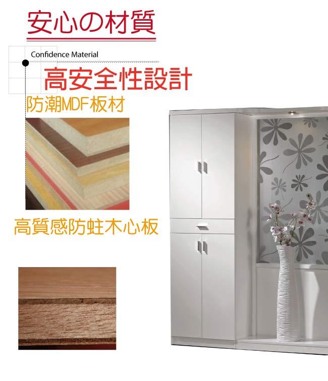 【綠家居】派柏亞 時尚4.7尺高屏風鞋櫃/玄關櫃組合(二色可選)
