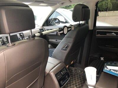 車載平板支架 車載ipad支架汽車後排座蘋果迷你air pro 14寸平板通用頭枕手機夾 全館八八折