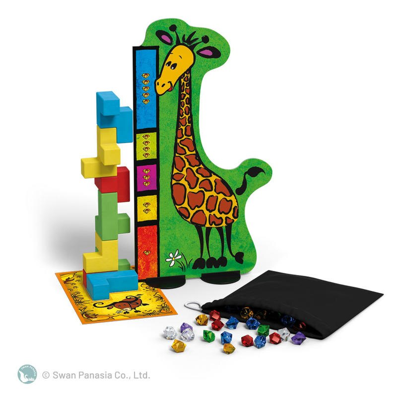 烏邦果 3D兒童版 UBONGO 3D JUNIOR 繁體中文版 高雄龐奇桌遊 正版桌遊專賣 新天鵝堡
