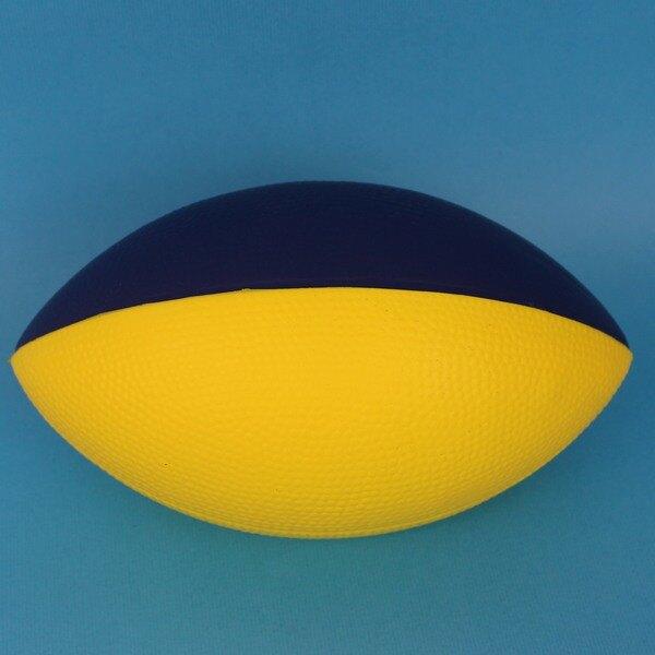 9 3/4吋 安全橄欖球 PU發泡球/一個入(促399) 幼教體能專用球 安全球~群