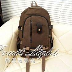 後背包男士後背包包旅行李大容量衣服男土用帆布青年裝旅遊後背包的休閒