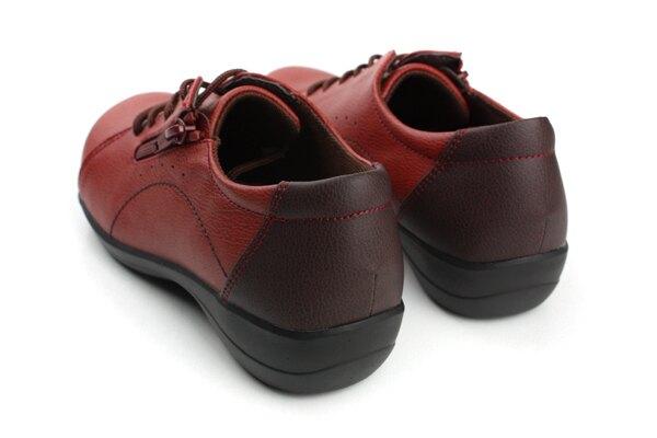 Moonstar 保健鞋 休閒鞋 拇指外翻 支援 紅色 女鞋 EV2362 no951