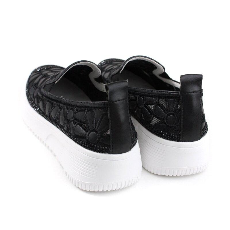 HUMAN PEACE 懶人鞋 厚底鞋 黑色 花朵 女鞋 019-1-08 no156