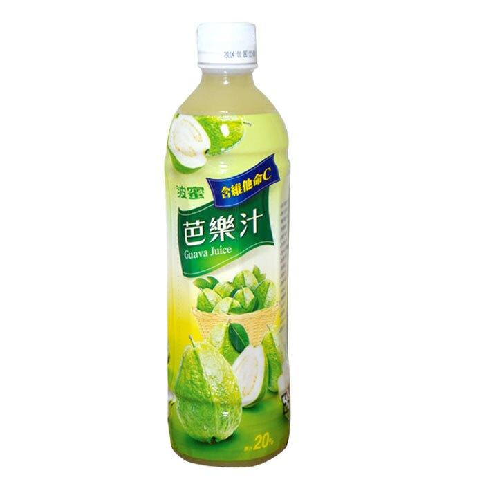 波蜜 芭樂汁飲料 580ml (24入)x2箱【康鄰超市】