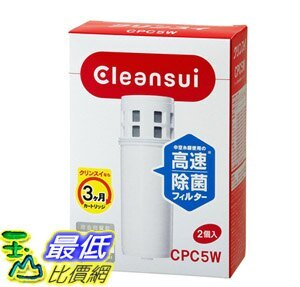 [8東京直購] Cleansui 三菱麗陽 可菱水 濾水器濾心 CPC5W-NW 2入 相容:CSP系列