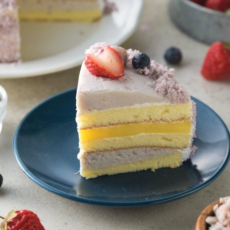 經典芋泥蛋糕6吋 | 大甲芋頭 | 網購美食 甜點 免運