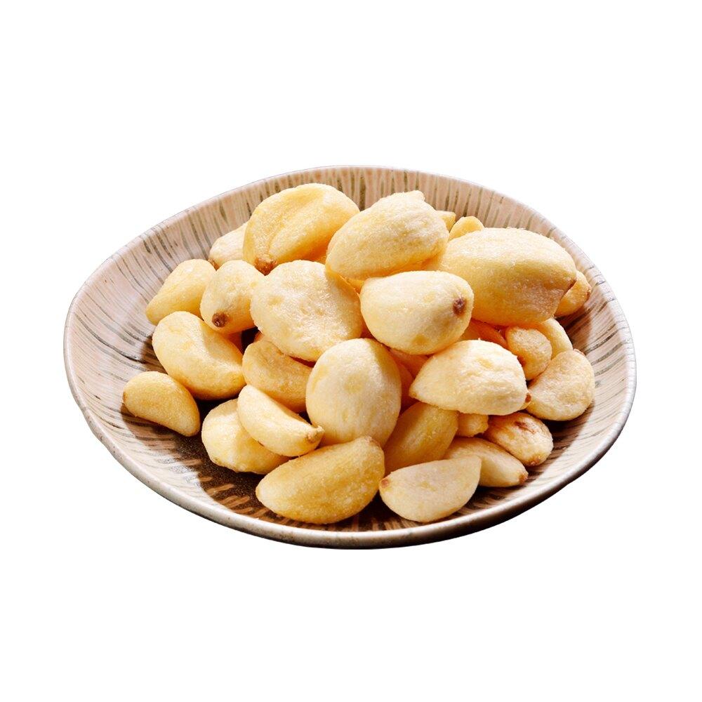 蒜頭酥100公克【每日優果】共5種口味(原味/椒鹽/狠蒜/香辣/塔香)