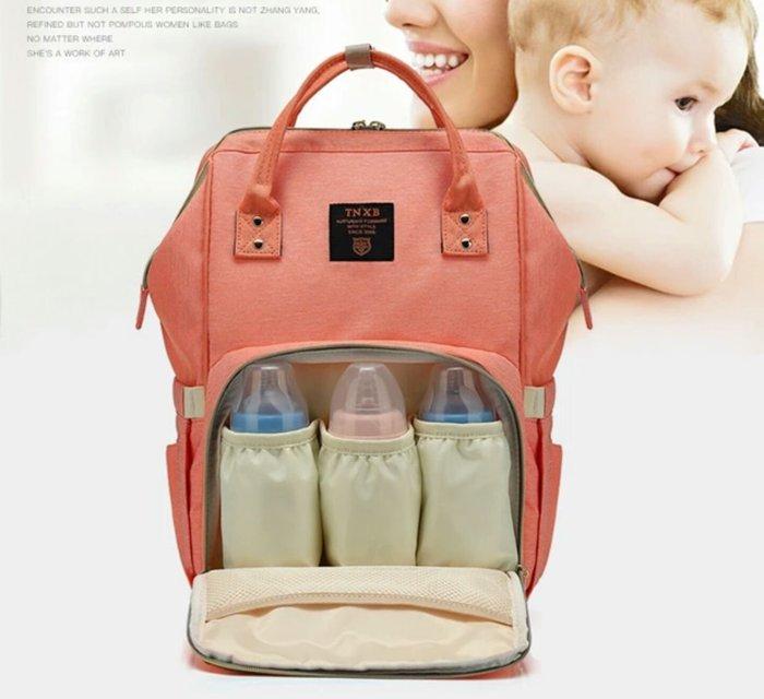 媽媽包後背包可掛式【RS Home】 大容量媽媽包外出包寶貝包肩背包手提包保溫袋媽媽包