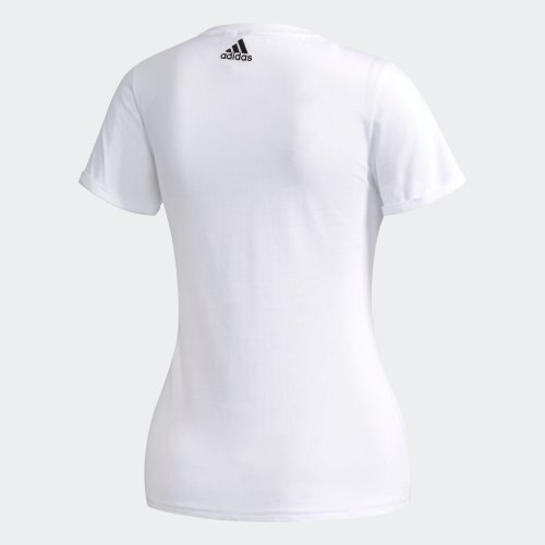 【H.Y SPORT】ADIDAS ATHLETICS GFX T FOIL LOGO 女子短袖T恤 CX5163 白