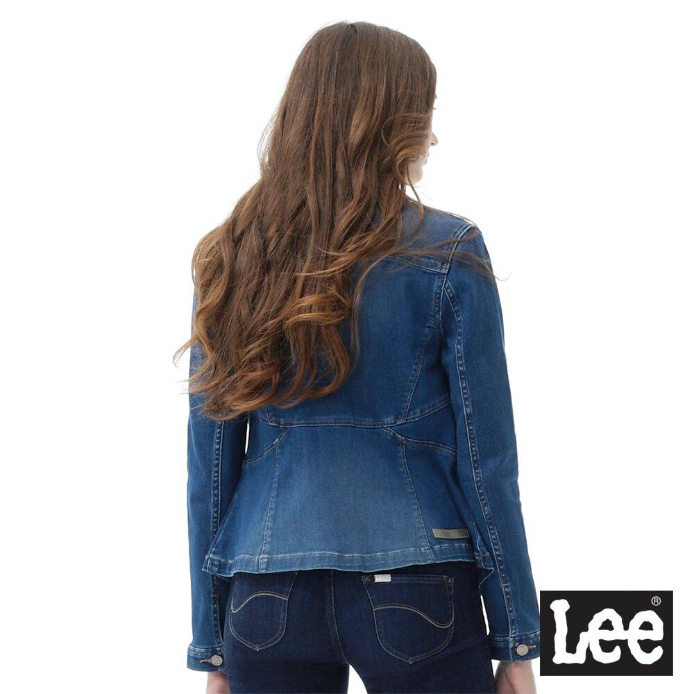 低溫特報 Lee 連牛仔外套 女款 藍色