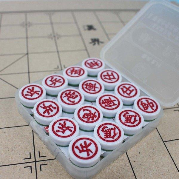 棋王象棋 雙色象棋 榮冠 直徑27mm/一箱10副入(定100) 比賽專用象棋 無接縫象棋