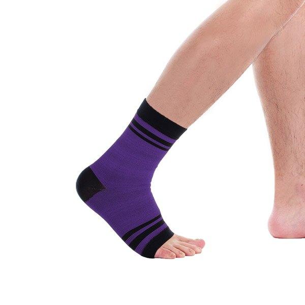 Tric 腳踝護套-紫色 1雙 PT-G21 台灣製造 專業運動護具