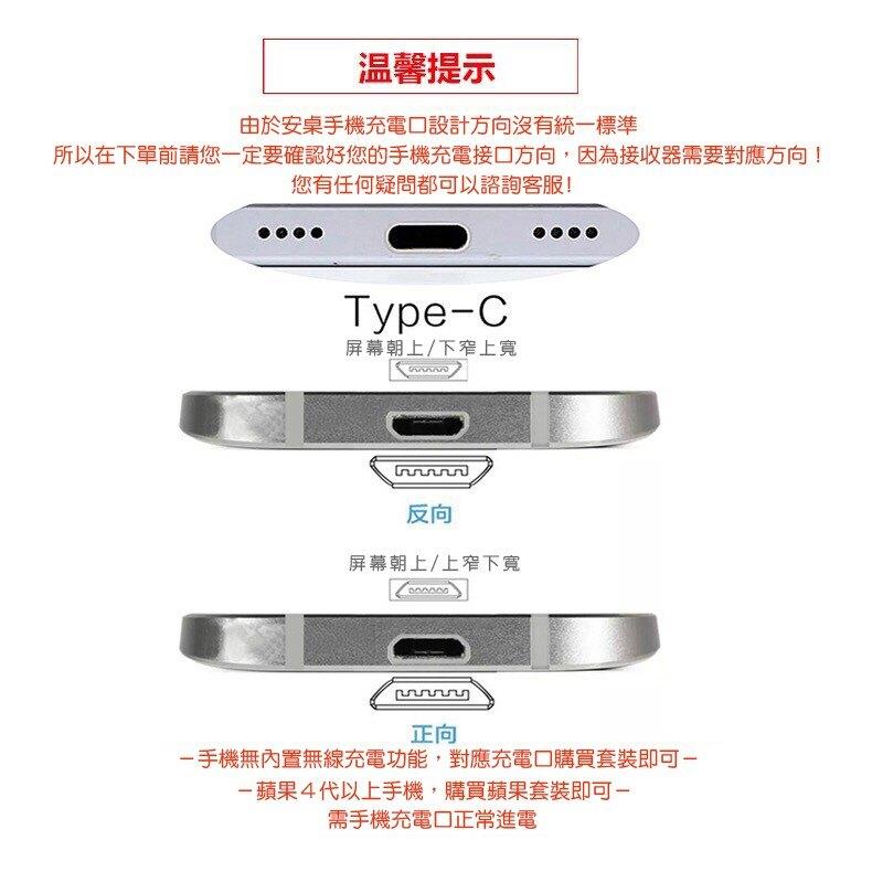 iPhone接受貼器 安卓正反接受貼片 Q1 Type-c 無線充電貼片