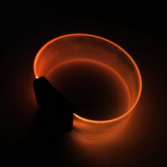 客製化 LOGO TPU手環(寬版)七彩 雷射激刻 發光手環 發光錶帶 廣告 發光手環 蕭敬騰【塔克】