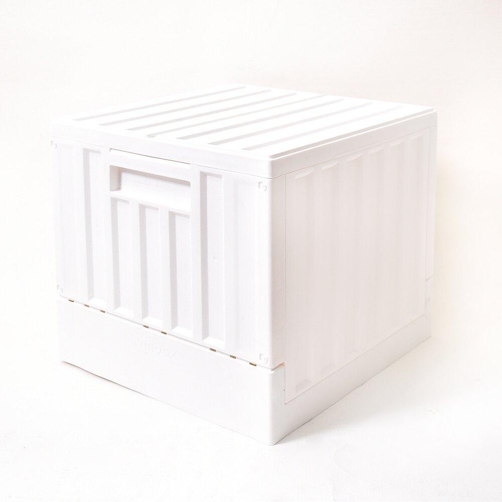摺疊籃/收納箱 /箱子/櫃子 CARGO貨櫃收納椅 二色 樹德MIT台灣製【FB-3232B】