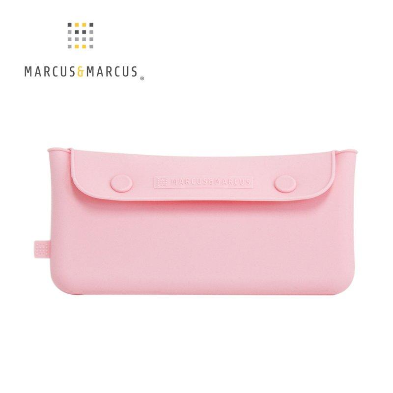 加拿大 MARCUS&MARCUS 輕巧矽膠餐具收納袋(2色可選)