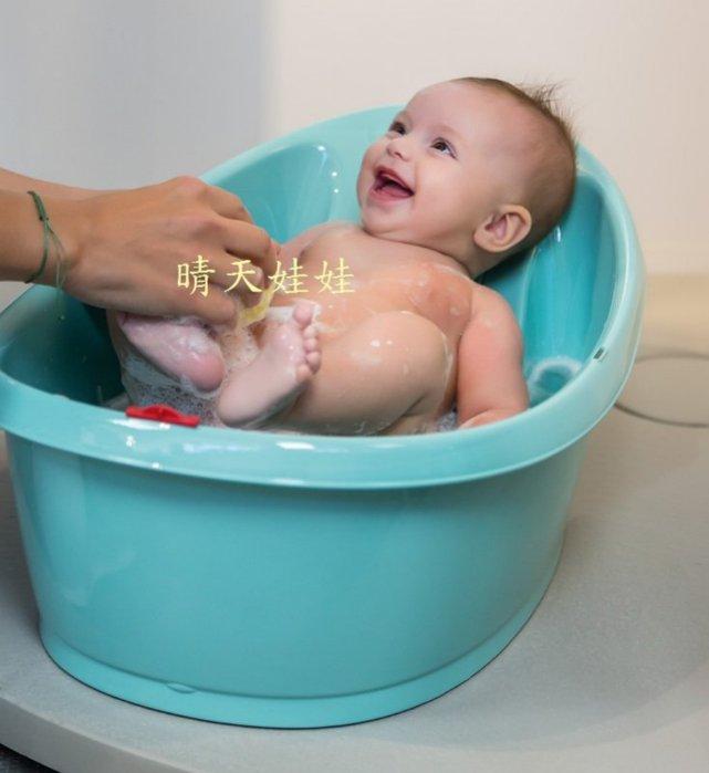 【晴晴百寶盒】OKBABY嬰兒澡盆浴盆迷你款 保母娃娃證照模擬母嬰用品 創新寶寶實用浴盆 創意貼心禮物CP值高 U012