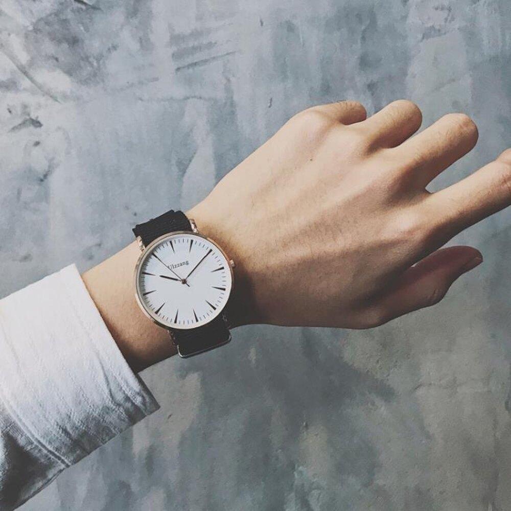 免運 男士手錶潮流學生韓版簡約休閒ulzzang女生男生潮男防水