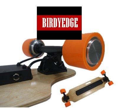 BIRDYEDGE 電動滑板 公路版 雙驅動 高速行駛達30KM 3D加拿大楓木 街頭滑板【迪特軍】