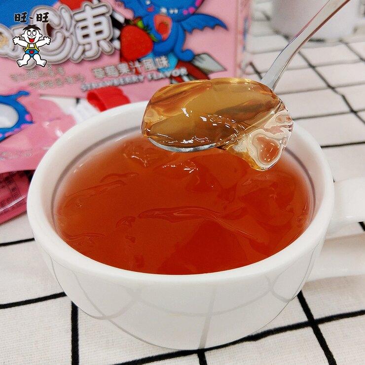 【旺旺】吸C凍★草莓果汁口味★可以吸的果凍★三種口感★每一口都享受★90g*6入