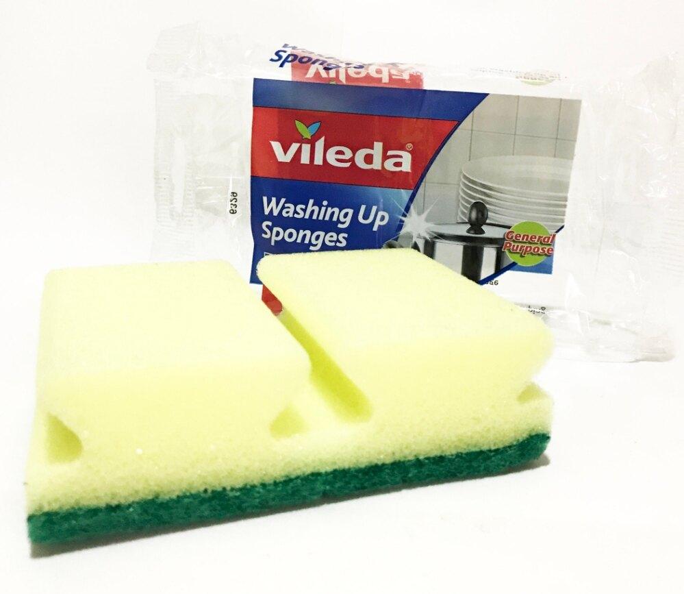 英國 Vileda 廚房專用 高品質 菜瓜布 (一般款) 每包2塊