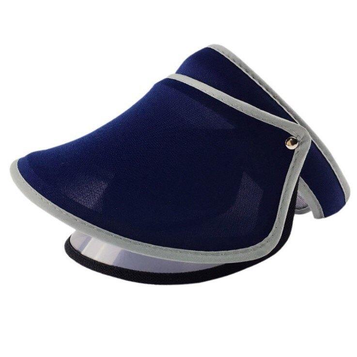 7色CAO鏡片款遮陽帽 韓國時尚夏天潮款伸縮美膚沙灘空頂帽 防紫外線太陽帽遮陽帽子居家必備xxxxxxxxboykimo