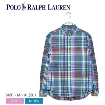(184円OFFクーポン配布中) ポロ ラルフローレン長袖シャツ メンズ ワンポイント チェックシャツ 323750000 トップス シャツ ウェア 父の日
