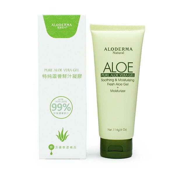 (五入) Aloderma 99%蘆薈鮮汁凝膠 114g