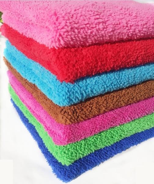 【八八八】e網購~【2入珊瑚絨吸水巾40x60公分 IA007】NO135洗車巾 洗車布抹布頭巾